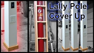 Lally Column Cover Up With Outlets
