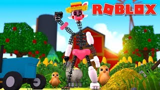 Mangle Becomes A Farmer?! (Roblox Roleplay)