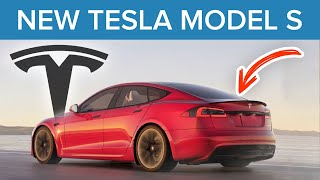 Secret Tesla Model S Refresh