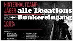 Days Gone alle Hinterhalt Camps Location und Bunkereingang auf der Karte Trophy Hinterhaltcamp Jäger