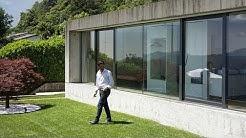 Architekt Hamos Meneghelli zählt auf die AXA – auch dank der individuellen Beratung