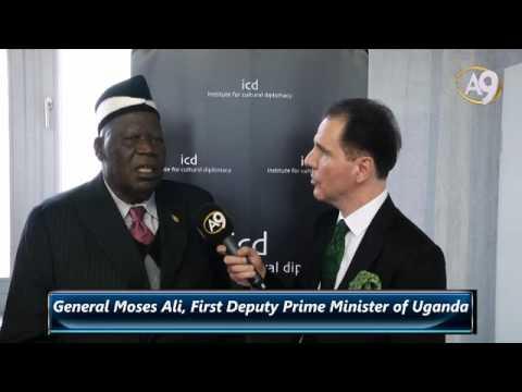 General Moses Ali, First Deputy Prime Minister of Uganda