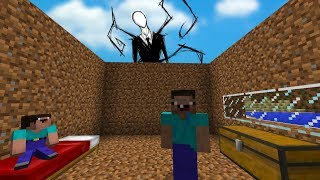 Noob'lar vs slenderman #2 - minecraft dizisi