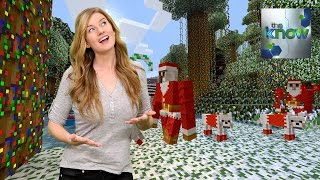 Minecraft Gets Into the Holidays + Movie Idea Rejected - The Know