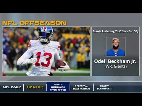 Odell Beckham Jr.: 5 Teams That Could Trade For The Giants WR