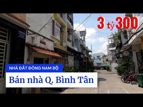 Chính chủ bán nhà quận Bình Tân dưới 4 tỷ, hẻm 6m Hương Lộ 2, Bình Trị Đông A