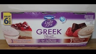 Dannon Light & Fit: Strawberry Cheesecake And Raspberry Chocolate Review
