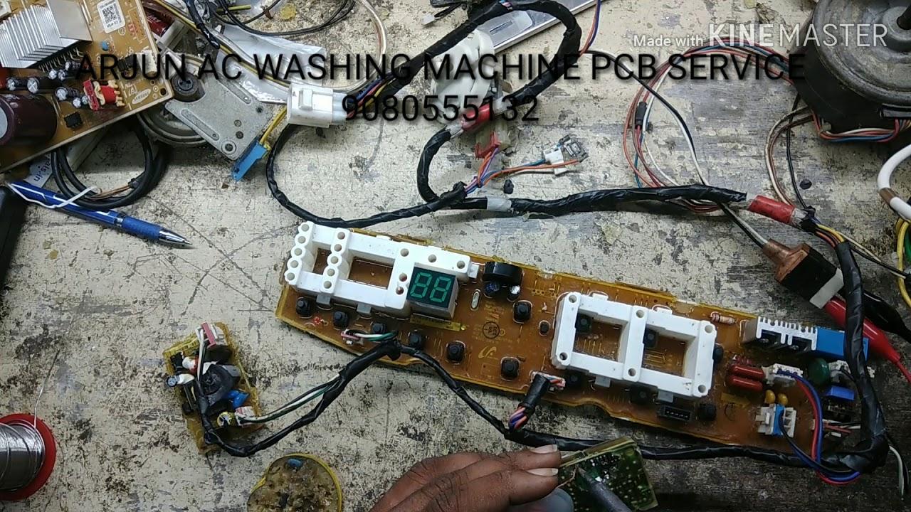Samsung Topload Washing Machine PCB Board Repair