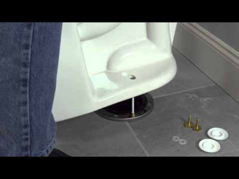 Keeney EZ Install Toilet Bolts and Caps Installation Video
