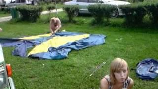Balkans Tour 2010 - Bran - Camping