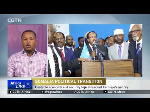 Somalia's residents have high expectations of new President