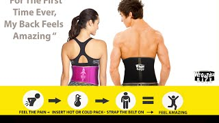 We Gotcha Back (Orthopedic Back Belt)
