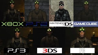 Splinter Cell Chaos Theory | PS2 Xbox GC DS PS3 3DS PC | All versions Comparison