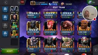 Extrmwill MCOC~AW max diversity, max synergy in 20 team