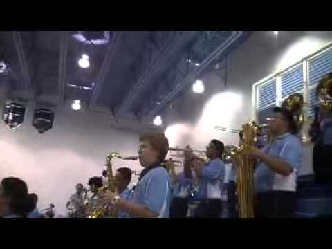 MIAMI PALMETTO SENIOR HIGH SCHOOL FIRST PEP RALLY PART 1