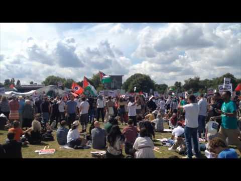 Demonstration for Gaza