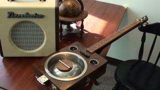 Playing Robert Johnson Tribute Guitar - Testing New Danelectro Amp