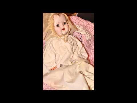 Haunted Doll #9 Victoria Antique/Vintage Composition Doll