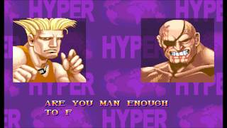【TAS】Hyper Street Fighter II D GUILE