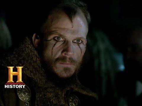 Vikings: Floki and Athelstan's Religious Conflict (S3, E6)