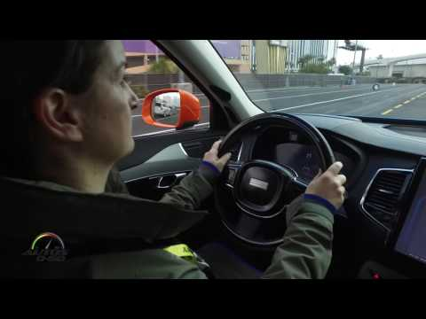 Autoliv Learning Intelligent Vehicle at CES Las Vegas 2017