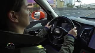 Autoliv Learning Intelligent Vehicle at CES Las Vegas 2017