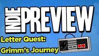 Indie Game Preview - Letter's Quest: Grimm's Journey - Scrabble Meets RPG
