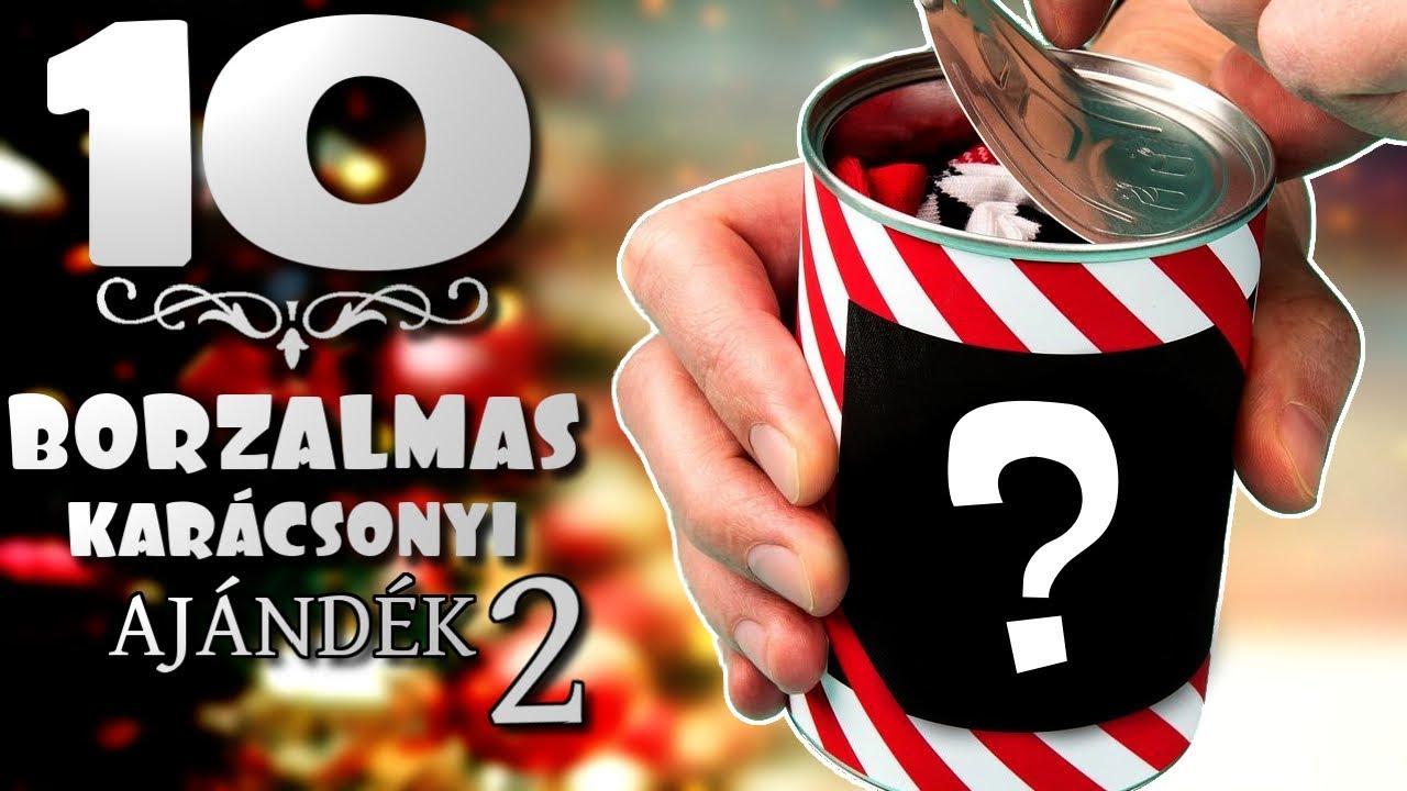 deb9c3b6ad 10 Borzalmas Karácsonyi Ajándék #2 [TOPLISTÁK] - YouTube