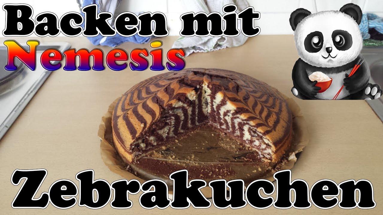 Backen Mit Nemesis 03 Zebrakuchen Full Hd Deutsch Youtube