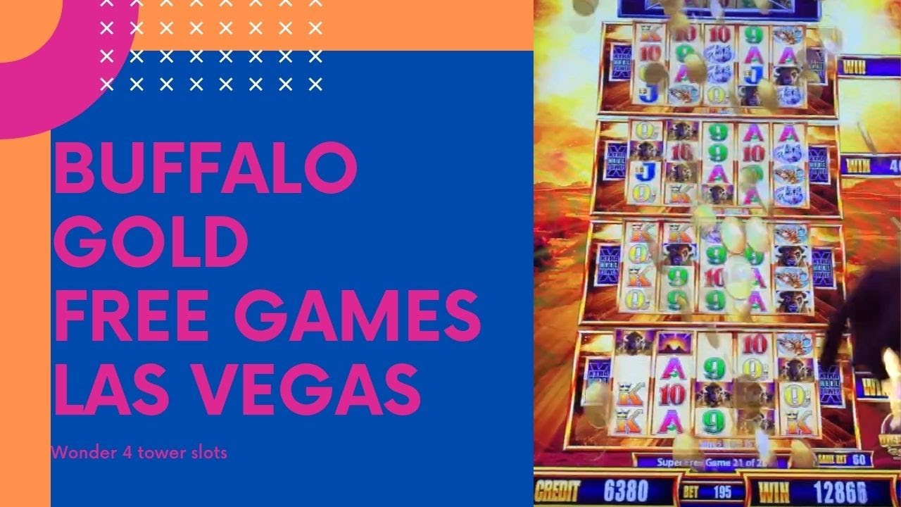 Buffalo Gold Wonder Tower Slot Machine 2020