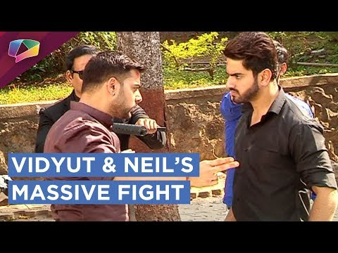 Neil Gets Beaten Badly By Vidyut | Neil & Viyut's Fight Drama | Naamkaran | Star Plus thumbnail