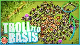TROLL BASIS 11.0 | NIEMAND KAN MIJN BASIS VERSLAAN!?! - Clash of Clans