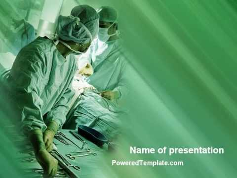 Scrub Nurse Powerpoint Template By Poweredtemplate.Com - Youtube