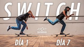 RETO 7 DÍAS patinando SOLO de SWITCH!