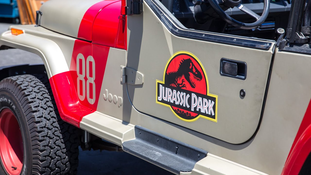 jurassic park jeep conversion project - youtube