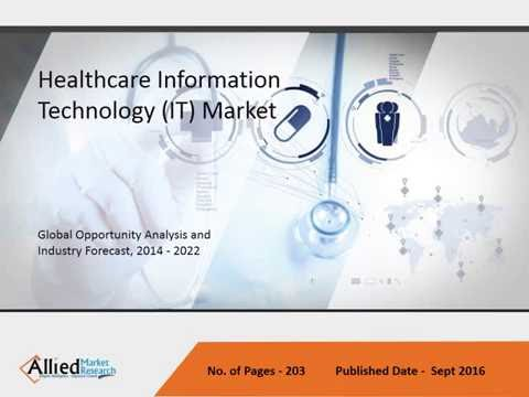 Healthcare Information Technology (IT) Market Size & Trends - 2022