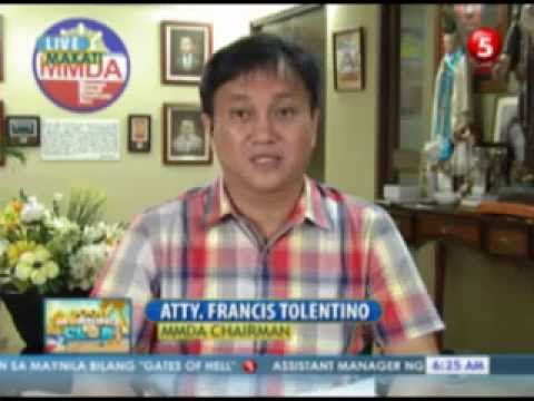News5E | Paolo Bediones interviews MMDA Chair Francis Tolentino re: Letter to Dan Brown