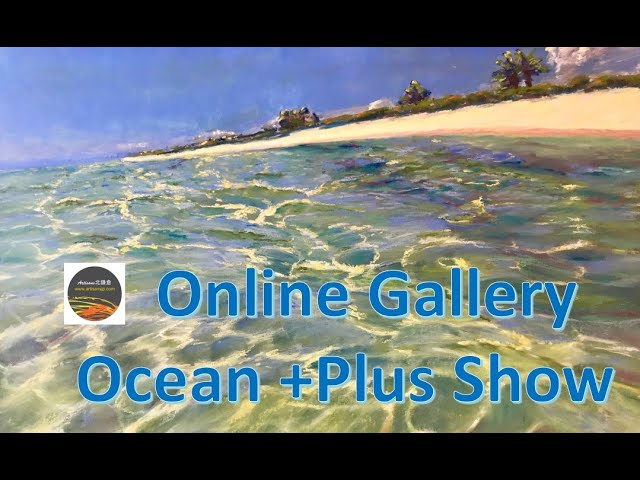 Ocean +Plus Show 作品がFacebookとInstagramからご購入可能になりました。