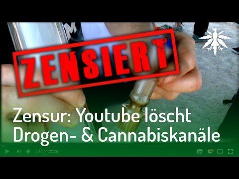 Zensur: Youtube löscht Drogen- & Cannabiskanäle | DHV-News #162