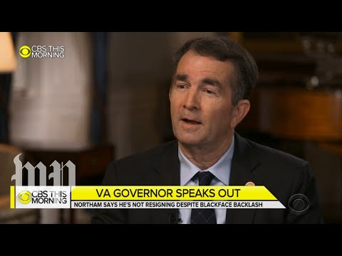 'I'm not the same person': Northam responds to blackface yearbook pictures