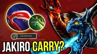 JAKIRO CARRY? - WTF Jakiro Desolator Carry NEW META 7.11 Dota 2 | Upside down 83