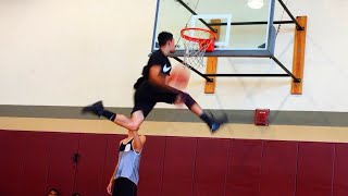 15 Minute Dunk Session   6'1 Isaiah Rivera Video