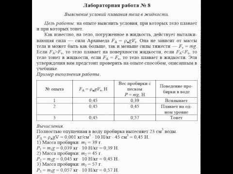 физика 8 класс гдз лабораторные работы астахова