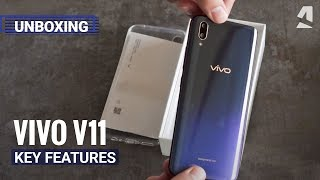 Vivo V11 unboxing and key features