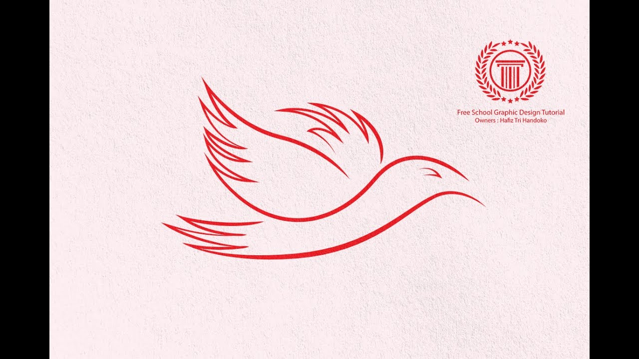 simple logo design tutorial for beginners how to make animal logo in adobe illustrator cs6