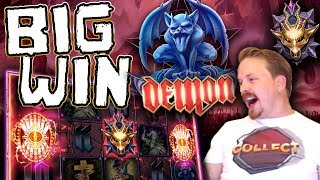 Big Win on New Demon Slot From Play'n Go