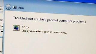 How to fix window Transparency under Windows 7 (Aero, www.drp.su)