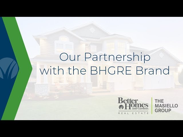 Our Partnership with the Better Homes and Gardens Real Estate Brand