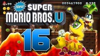 Let's Play New Super Mario Bros U Part 16: Iggys heiße Lavawellen