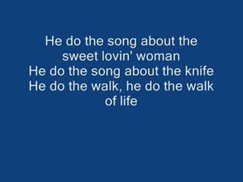 Dire Straits Walk of Life LYRICS